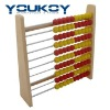 simple wooden abacus toy