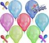 six latex round balloon