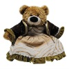 soft plush musical toy bear christmas singing doll