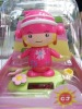 solar standing hoodwinked,solar toys, Christmas gifts, solar power dolls, solar swing gifts, promotion gifts, solar products