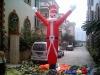 special design inflatable Christmas air dancer