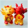 the 2012 image dragon  plush toys ,the soft toys pp cotton made for christmas gift