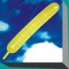 the rocket latex balloon