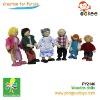 wooden Dolls(Dolls- Family)