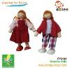 wooden Dolls(Dolls- boy and girl)