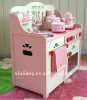 wooden kids toy cooker hood kitchen modelling tools
