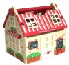 wooden kids toy house tool tools