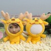 yellow dragon 3d man face doll