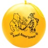 yellow natural latex balloons