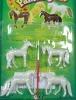 zoo animals plastic toy
